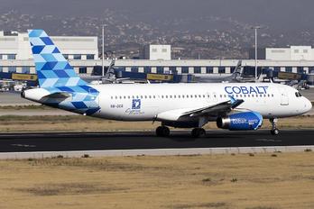 5B-DCR - Cobalt Airbus A320