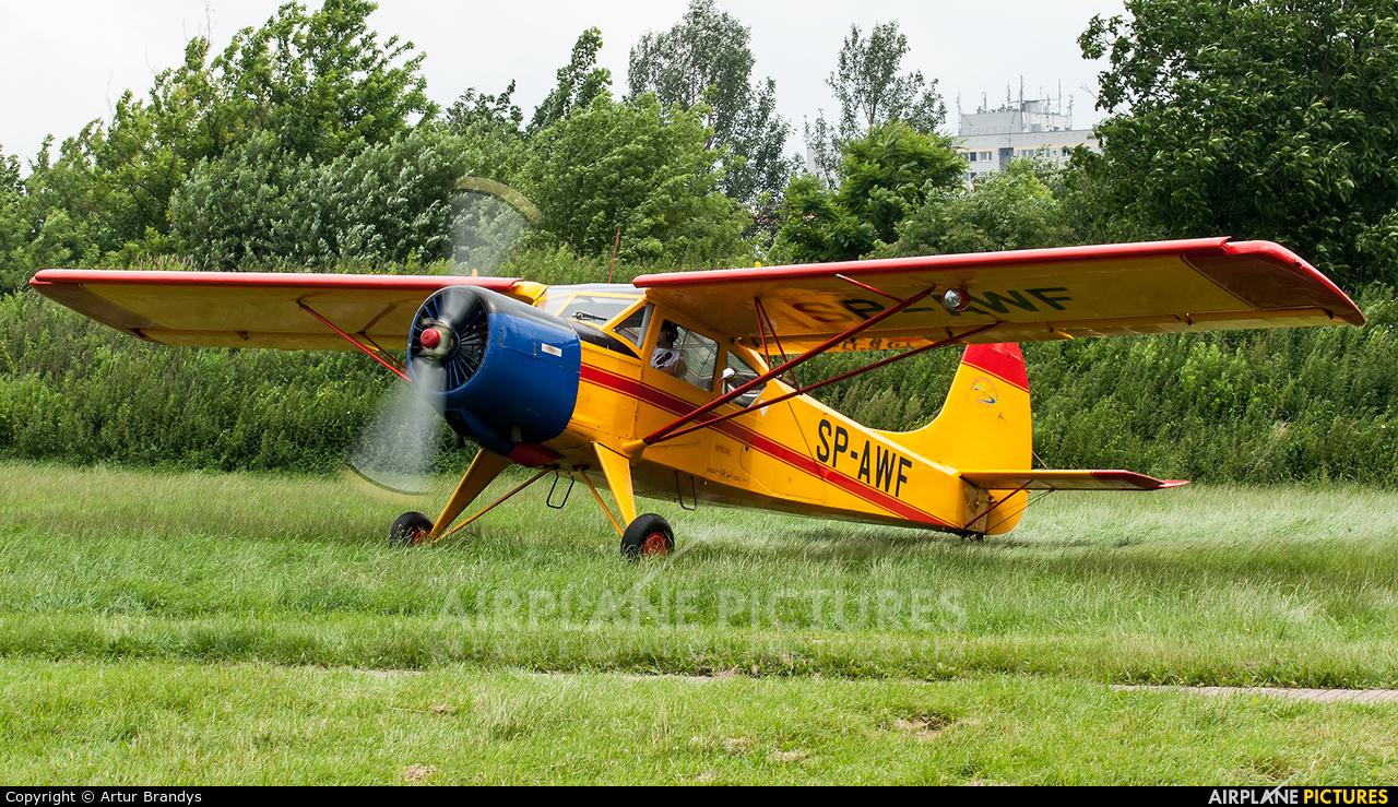 Aeroklub Podhalański SP-AWF aircraft at Kraków, Rakowice Czyżyny - Museum of Polish Aviation