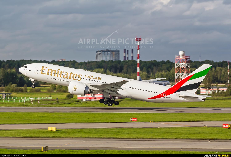 Emirates Airlines A6-EWD aircraft at St. Petersburg - Pulkovo