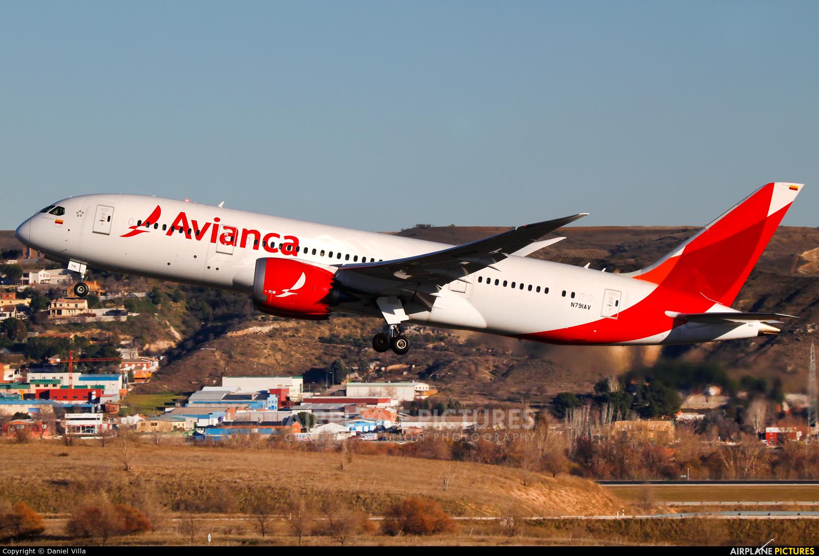 Avianca N791AV aircraft at Madrid - Barajas