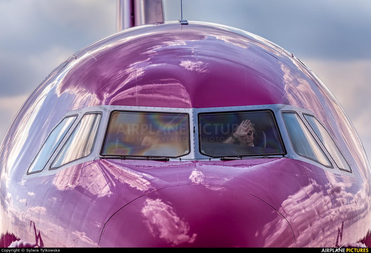 Wizz Air HA-LYM aircraft at Olsztyn Mazury Airport (Szymany)