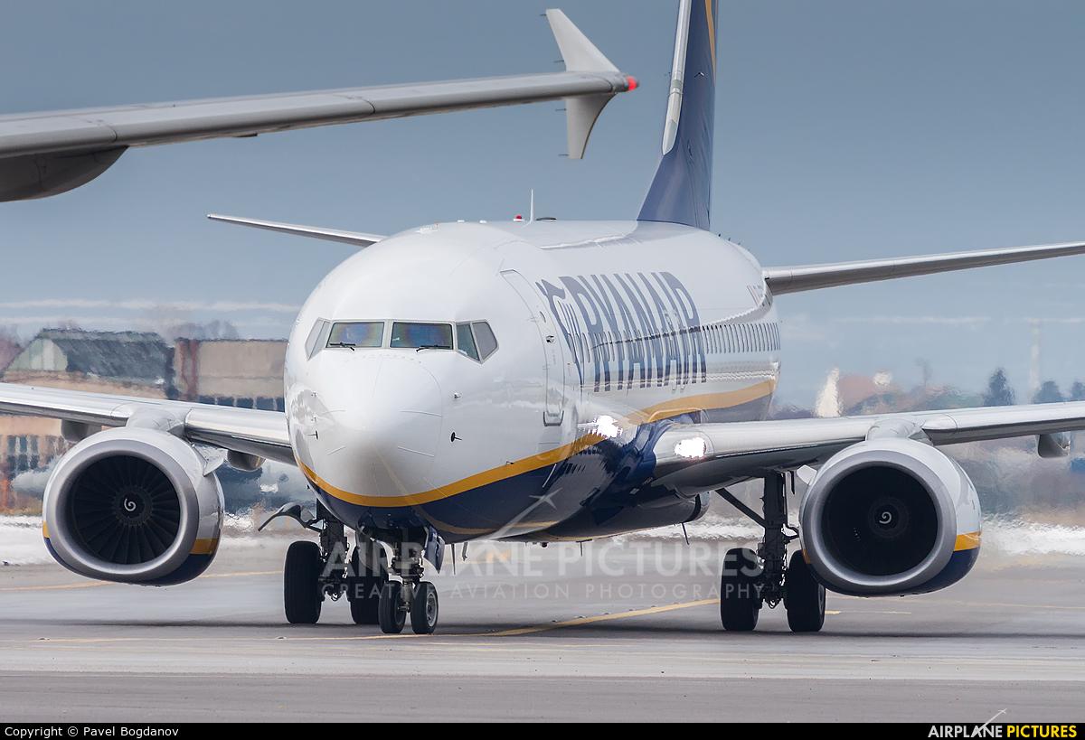Ryanair EI-FTB aircraft at Sofia