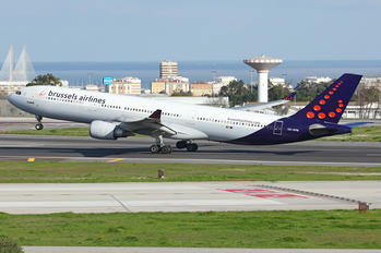 OO-SFM - Brussels Airlines Airbus A330-300