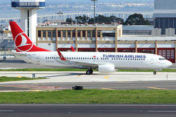 TC-JVZ - Turkish Airlines Boeing 737-800