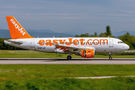 easyJet Switzerland Airbus A320 HB-JZF at Basel - Mulhouse- Euro airport