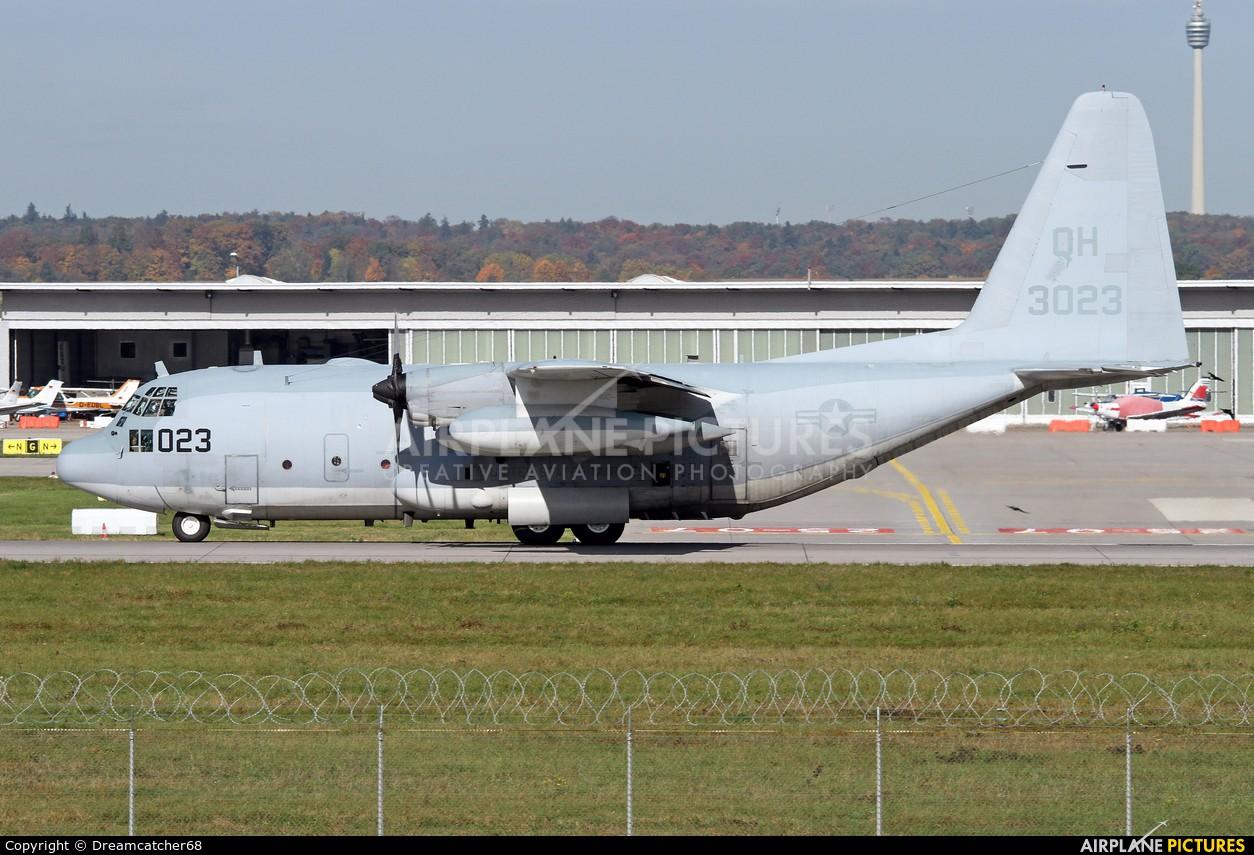 USA - Marine Corps 163023 aircraft at Stuttgart