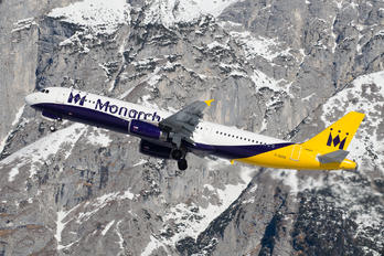 G-OZBR - Monarch Airlines Airbus A321