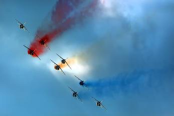 """E163 - France - Air Force """"Patrouille de France"""" Dassault - Dornier Alpha Jet E"""
