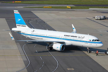 9K-AKI - Kuwait Airways Airbus A320