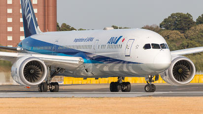 JA839A - ANA - All Nippon Airways Boeing 787-9 Dreamliner