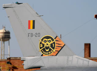 FB-20 - Belgium - Air Force General Dynamics F-16BM Fighting Falcon