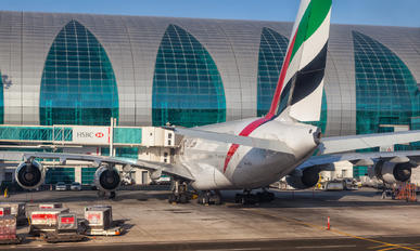 A6-EDU - Emirates Airlines Airbus A380
