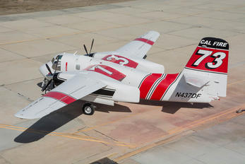 N437DF - California - Dept. of Forestry & Fire Protection Grumman S-2F3AT Turbo Tracker (G-121)