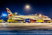 G-ZBJH - British Airways Boeing 787-8 Dreamliner aircraft