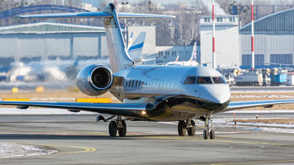 SP-WOI - Blue Jet Bombardier BD-700 Global Express