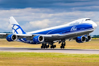 VQ-BRJ - Air Bridge Cargo Boeing 747-8F