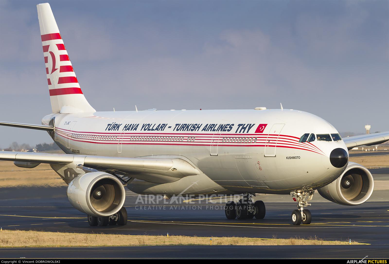 Turkish Airlines TC-JNC aircraft at Paris - Charles de Gaulle