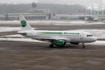 HB-JOG - Germania Airbus A319
