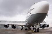 A7-HBJ - Qatar Amiri Flight Boeing 747-8 BBJ aircraft
