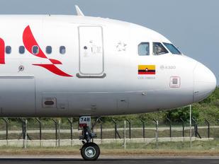 N748AV - Avianca Airbus A320