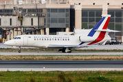 French AF Falcon in Málaga title=