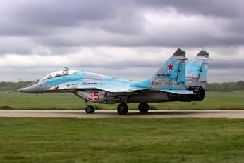 RF-92268 - Russia - Air Force Mikoyan-Gurevich MiG-29UB