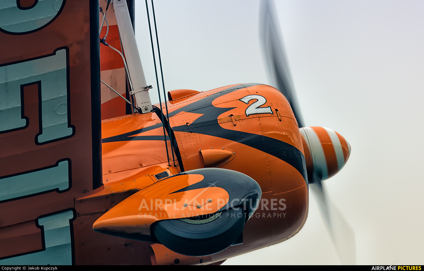 Breitling Wingwalkers - aircraft at Bray - Off Airport