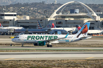 N228FR - Frontier Airlines Airbus A320