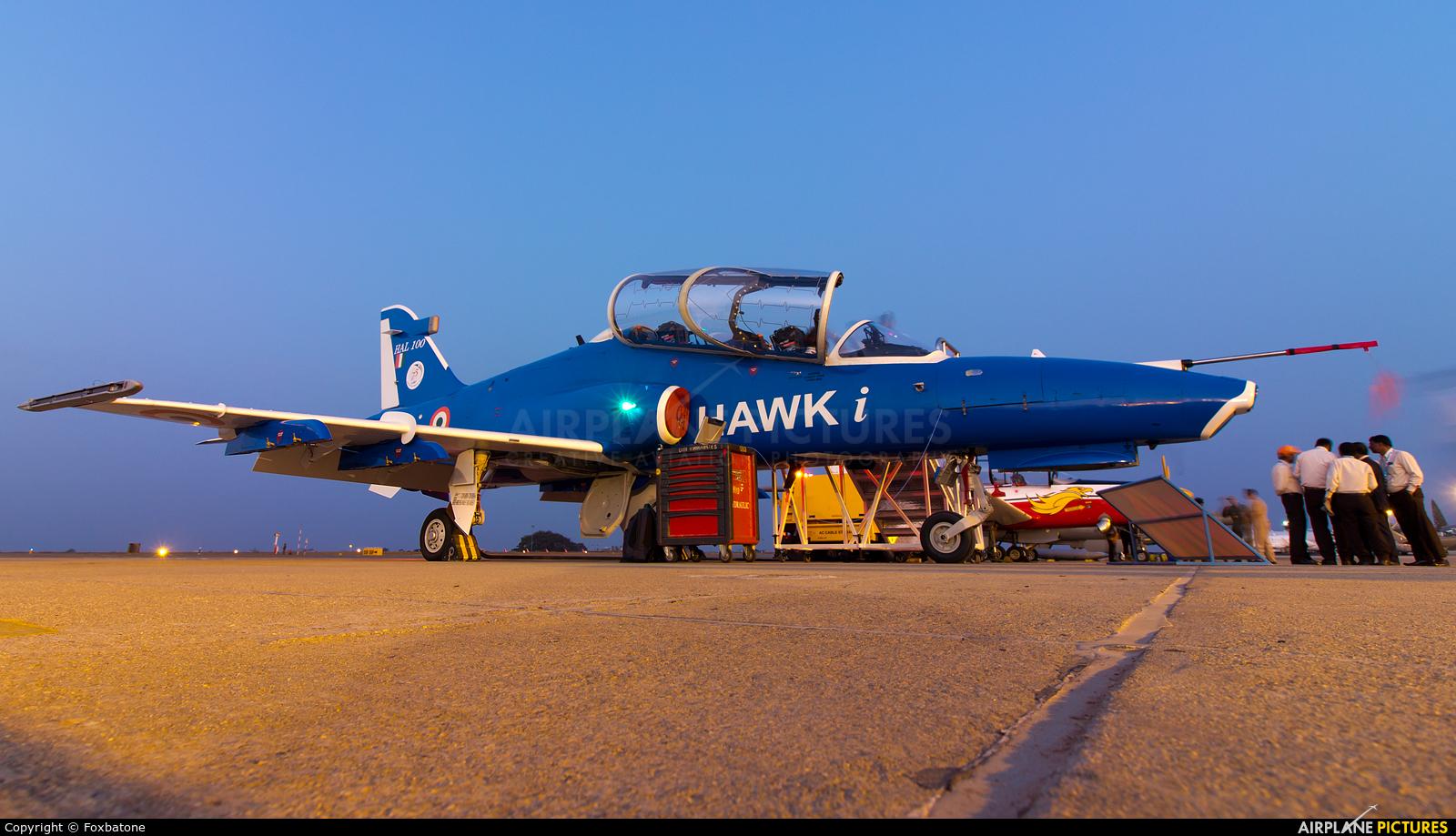 India - Air Force HAL100 aircraft at Yelahanka AFB