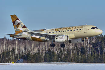 A6-EID - Etihad Airways Airbus A319