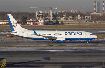 VQ-BSR - Orenair Boeing 737-800