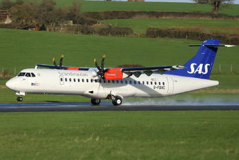 G-FBXC - SAS - Scandinavian Airlines (Flybe) ATR 72 (all models)
