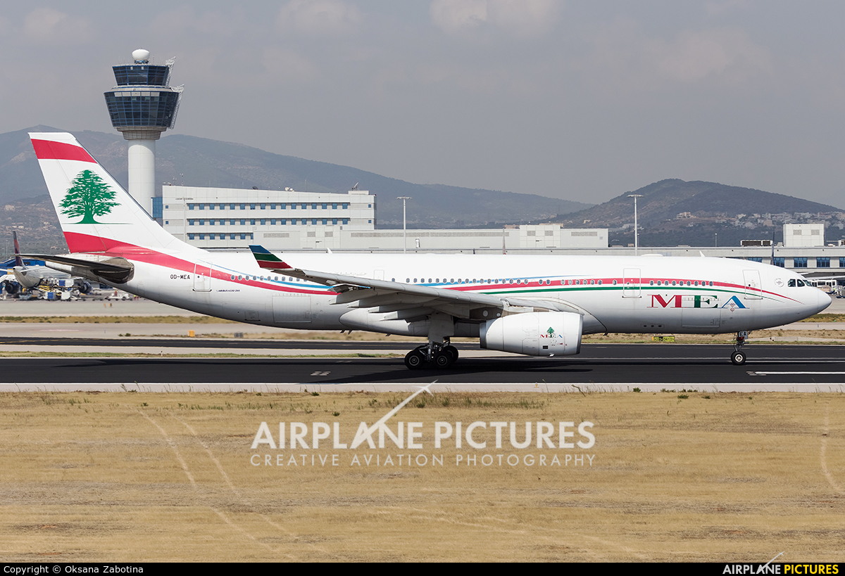 MEA - Middle East Airlines OD-MEA aircraft at Athens - Eleftherios Venizelos