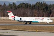 OE-LVI - Austrian Airlines/Arrows/Tyrolean Fokker 100 aircraft