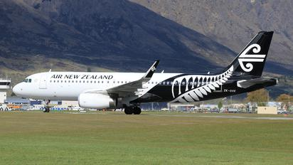 ZK-OXE - Air New Zealand Airbus A320