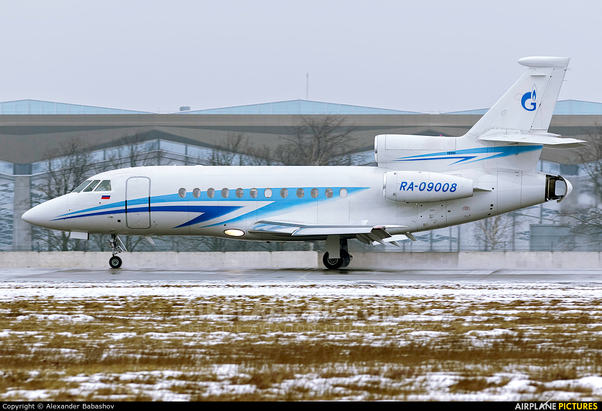 Gazpromavia RA-09008 aircraft at St. Petersburg - Pulkovo