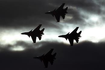 "31 - Russia - Air Force ""Russian Knights"" Sukhoi Su-30SM"