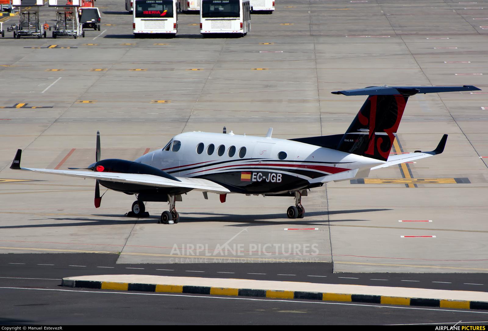 Private EC-JGB aircraft at Tenerife Sur - Reina Sofia