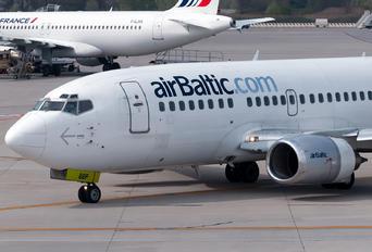 YL-BBP - Air Baltic Boeing 737-500
