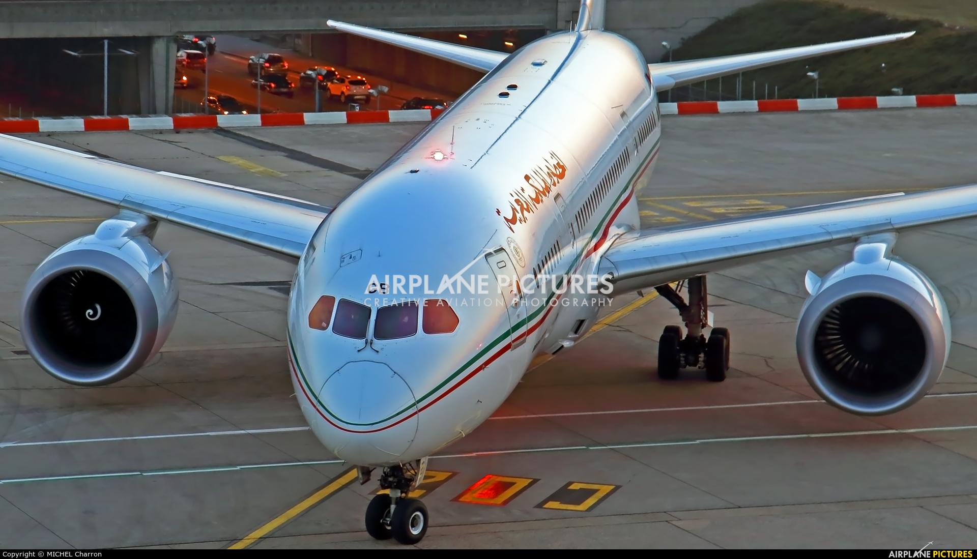 Royal Air Maroc CN-RGB aircraft at Paris - Orly
