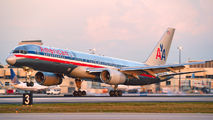 N602AN - American Airlines Boeing 757-200 aircraft