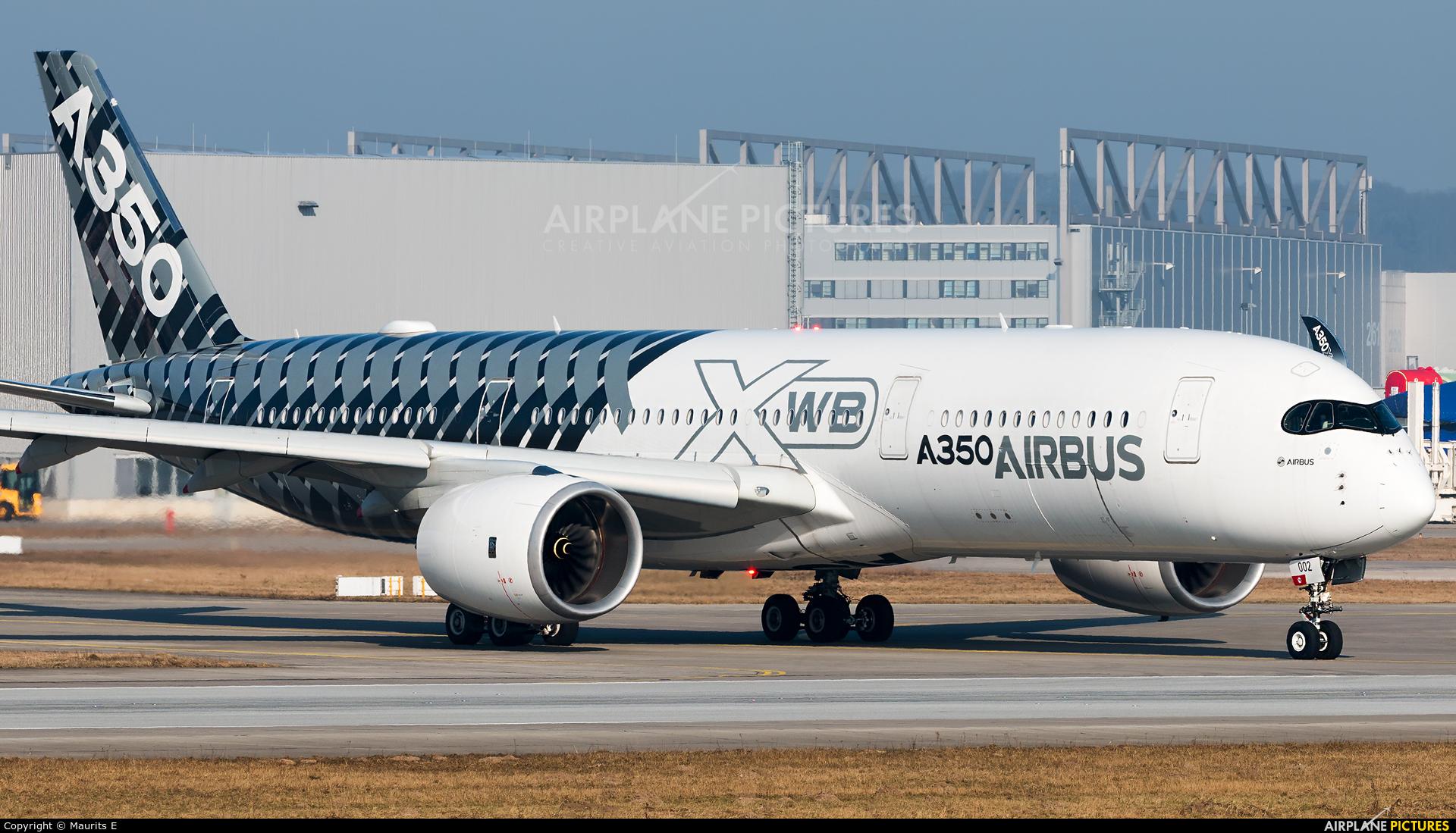 Airbus Industrie F-WWCF aircraft at Hamburg - Finkenwerder