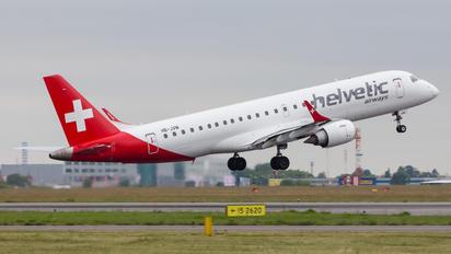 HB-JVM - Helvetic Airways Embraer ERJ-190 (190-100)