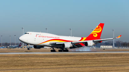 B-2435 - Yangtze River Airlines Boeing 747-400F, ERF