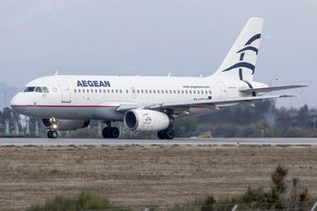 SX-DGF - Aegean Airlines Airbus A319