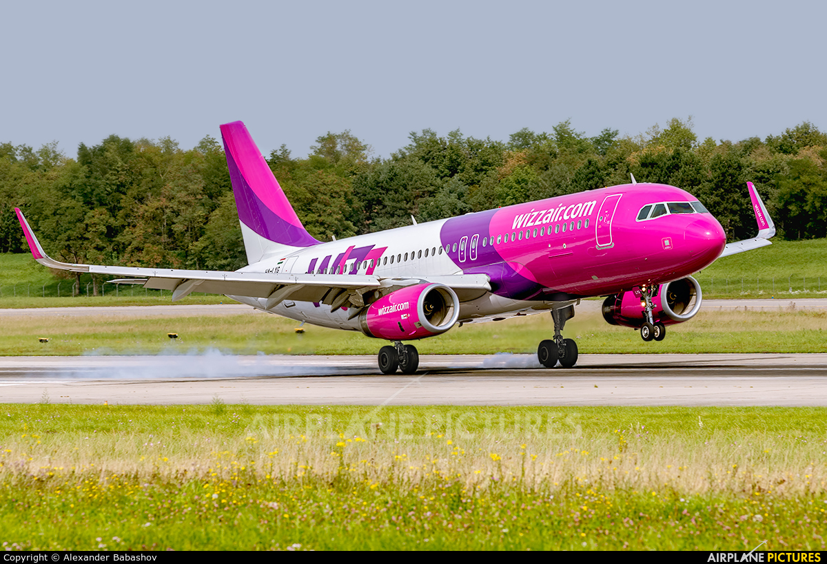 Wizz Air HA-LYG aircraft at Basel - Mulhouse- Euro