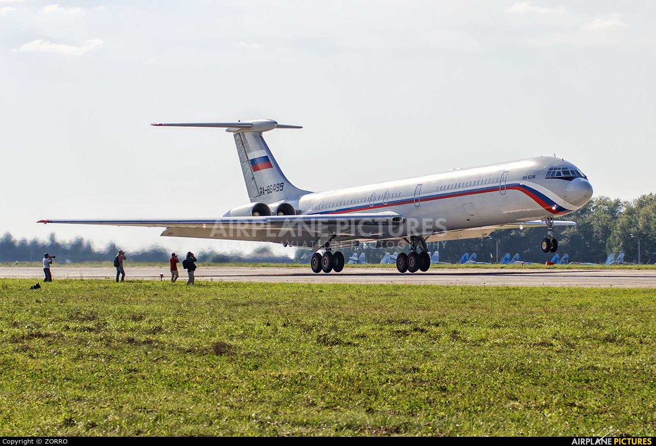 Russia - Air Force RA-86495 aircraft at Undisclosed Location