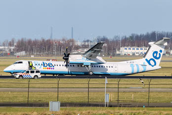 G-JECP - Flybe de Havilland Canada DHC-8-400Q / Bombardier Q400