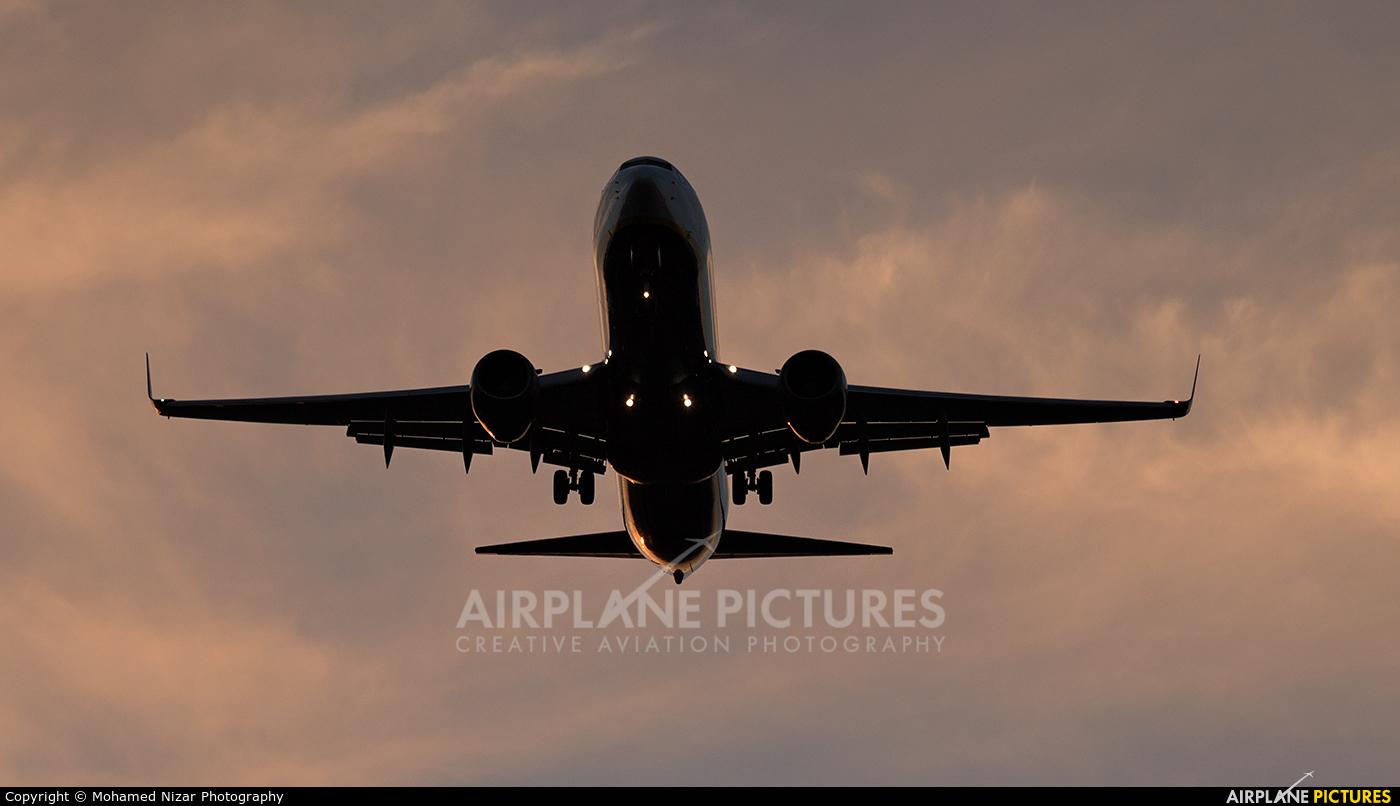 Ryanair EI-DWI aircraft at Fes - Saiss