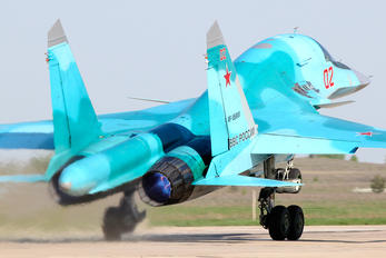 RF-95801 - Russia - Air Force Sukhoi Su-34